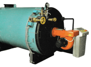 shell type water tube steam boiler