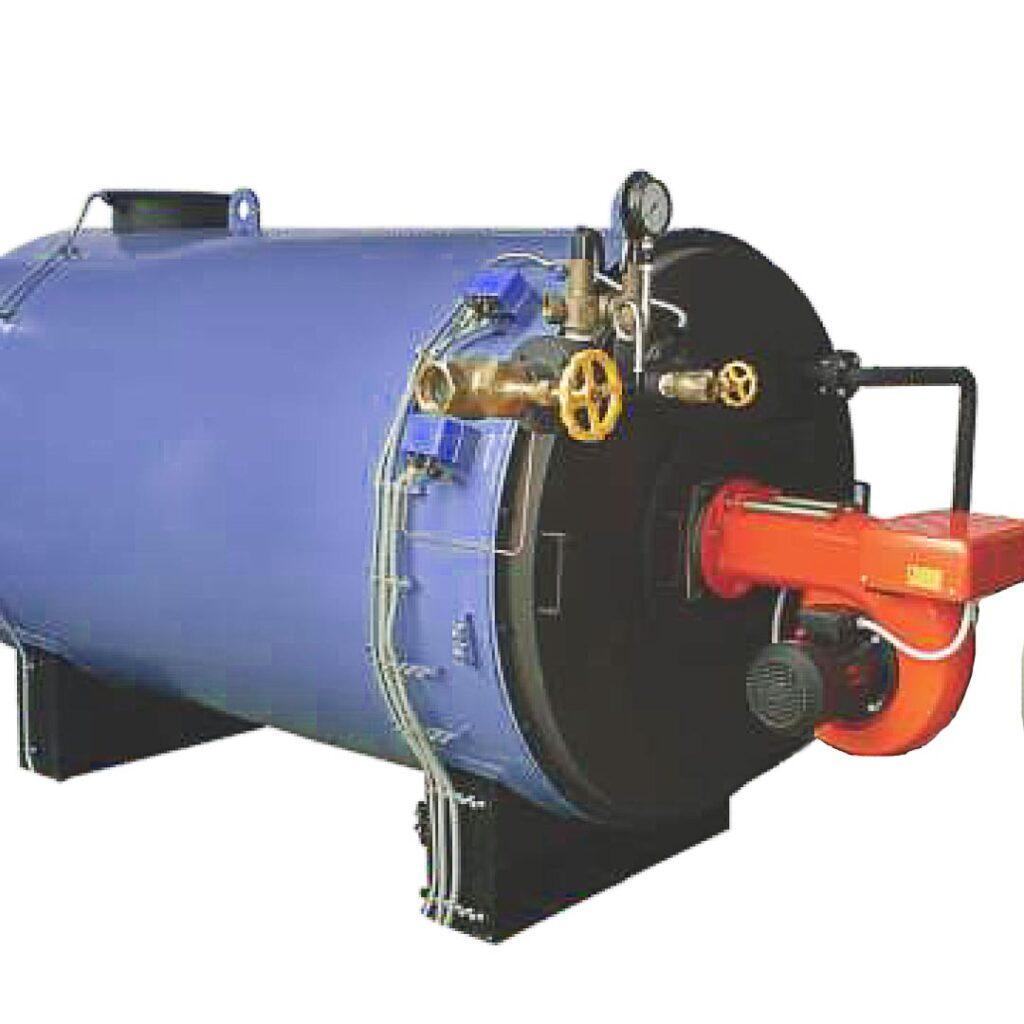 shell type water tube steam boiler