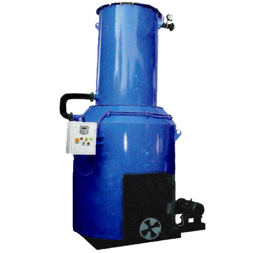 solid fuel fired vertical hot water boiler