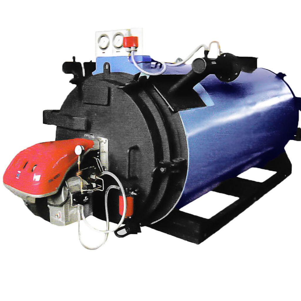 thermic fluid horizontal boiler