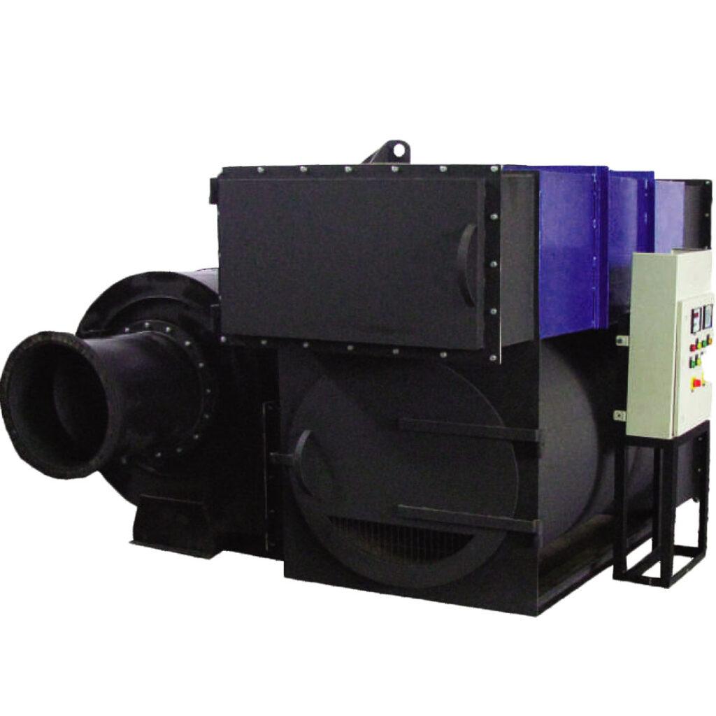 Wood Fired Hot Air Boiler
